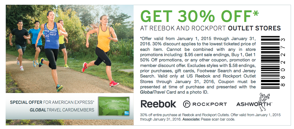 reebok outlet store coupon Online